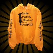 Buffalo Soldiers and Troopers Gold Hoodie