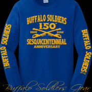 Buffalo Soldiers Gear 150th Gold on Royal