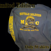 Buffalo Soldiers Gear Ride And Die with Pride Skull