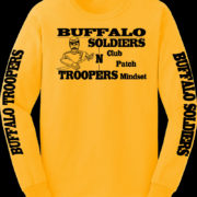 Buffalo Soldiers MC One Club Yellow