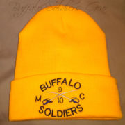 Gold Buffalo Soldiers Beanie