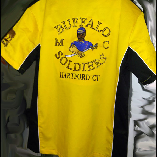 Buffalo Soldiers Gear Racing Shirt Soft Colors 1