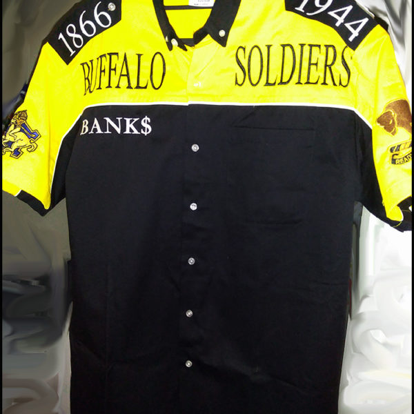 Buffalo Soldiers Gear Racing Shirt