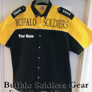 Buffalo Soldiers Racing Shirt Gold