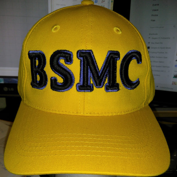 BSMC Embroidered 3D Puff hat