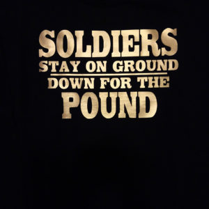 Buffalo Soldiers Stay on Ground