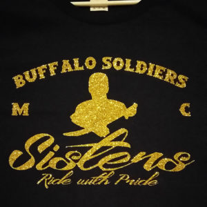 Soldier Sisters Gold Glitter