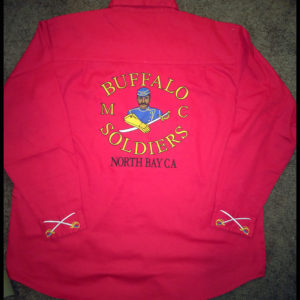 Buffalo Soldiers Gear Red Chapter Shirt