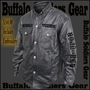 Buffalo Soldiers Gear Leather Shirt