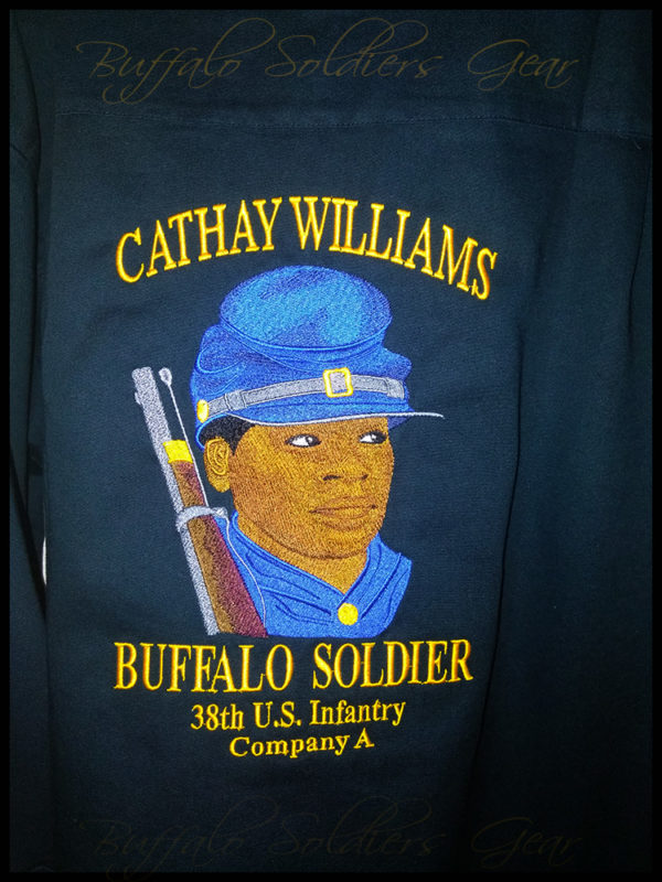 Buffalo Soldier Cathay Williams 38th Infantry