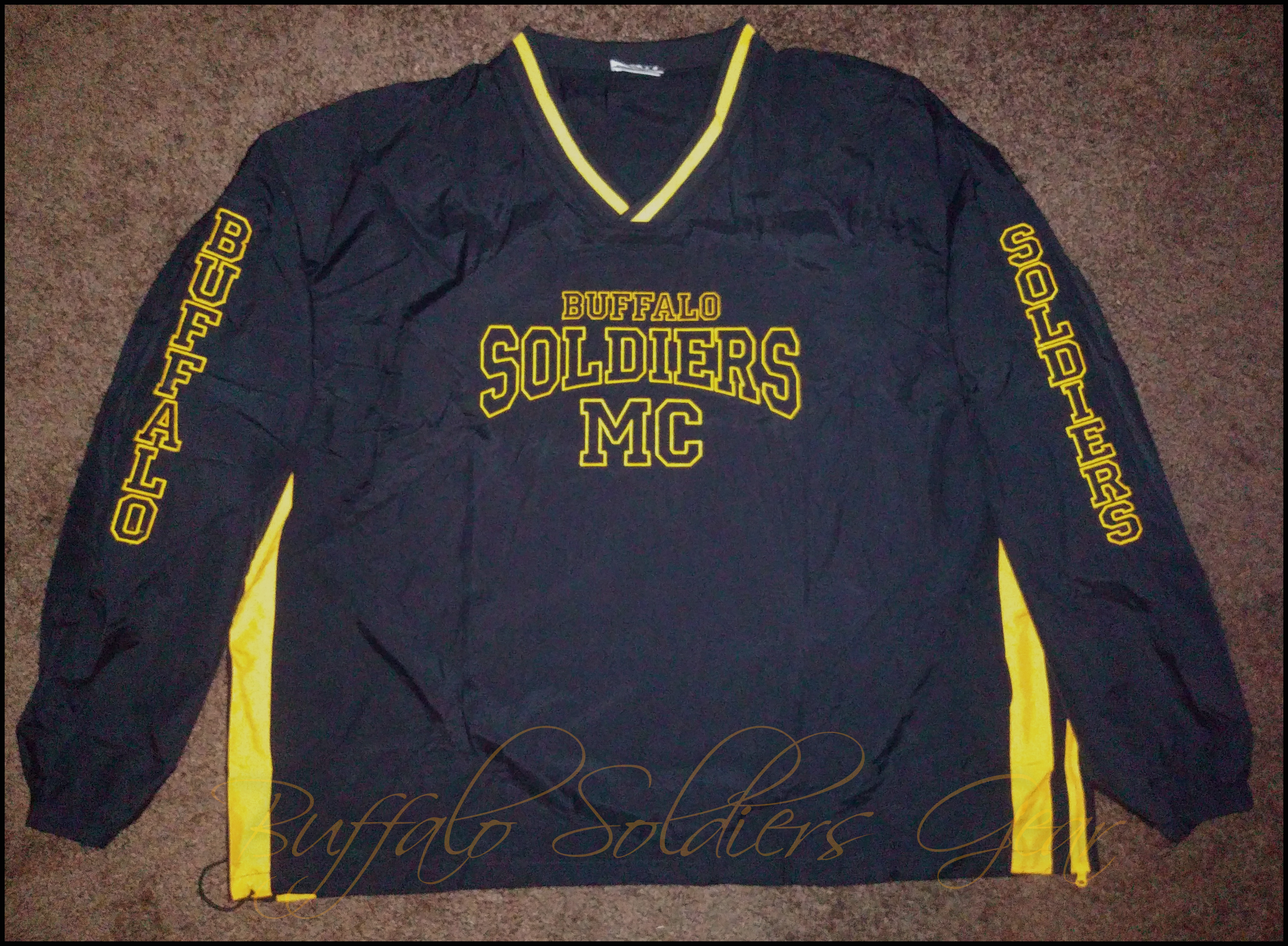 Buffalo Soldiers Gear Pullover