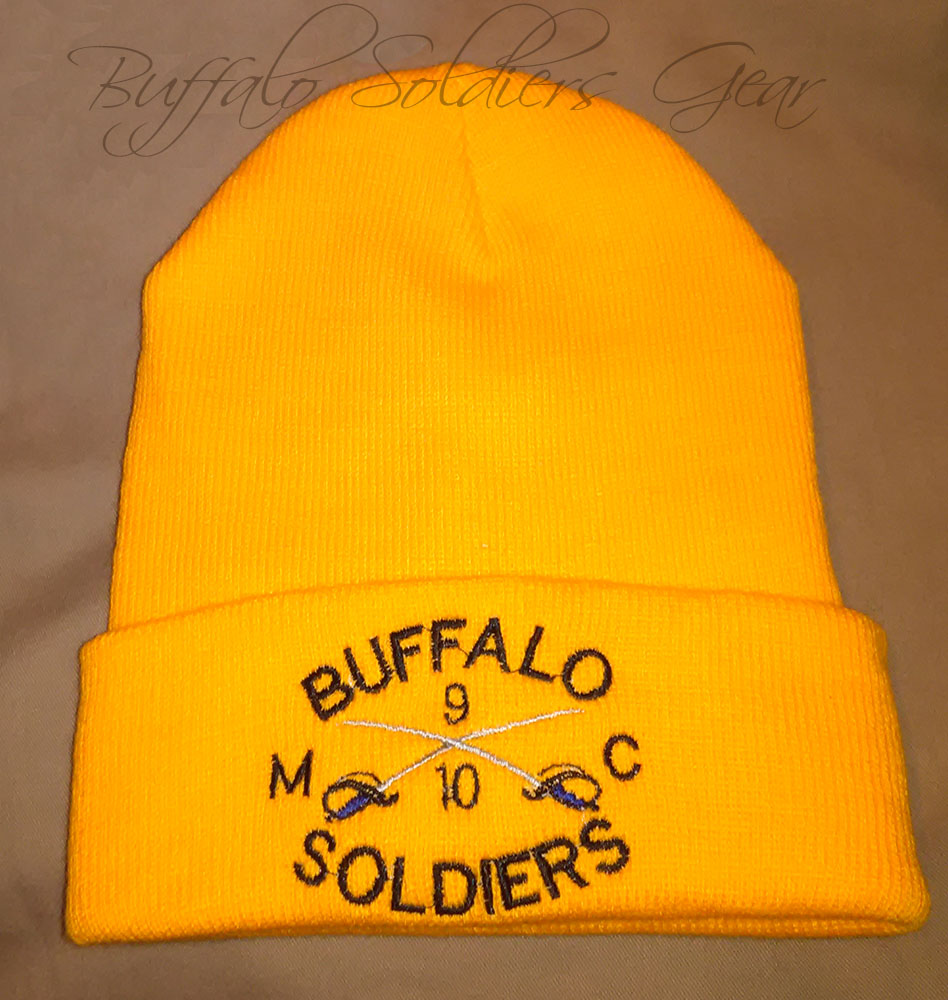 Buffalo Soldiers Embroidery Design
